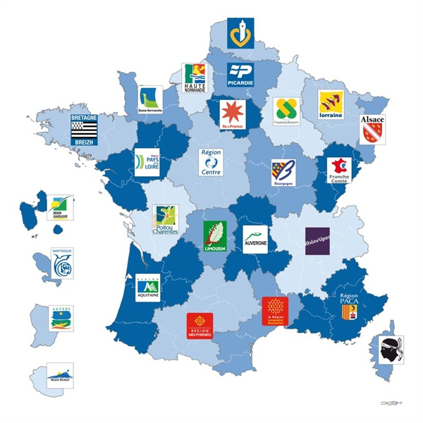 Régions de la France