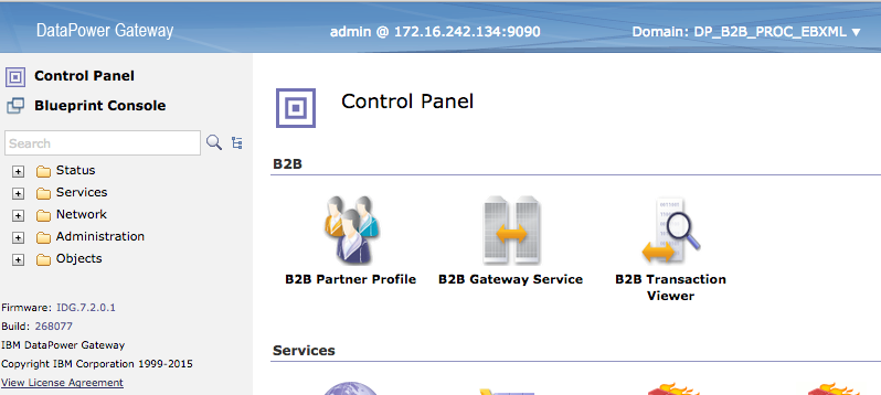 Using DataPower IDG Appliance as B2B gateway  Barebone sample of B2B